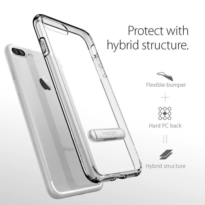 iPhone 7/8 Plus Case Ultra Hybrid S - Crystal Clear
