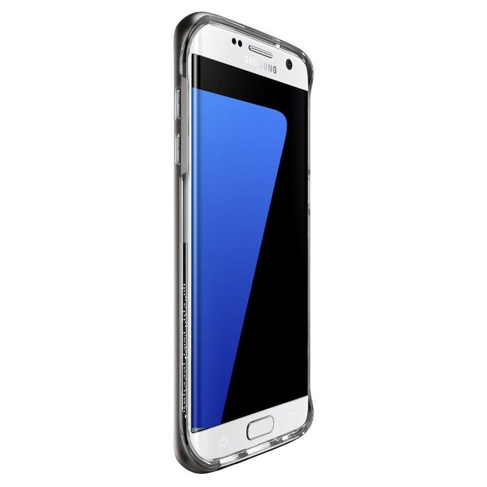 Galaxy S7 Edge Case Neo Hybrid Crystal - Gunmetal