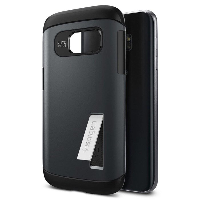 Galaxy S7 Case Slim Armor - Metal Slate