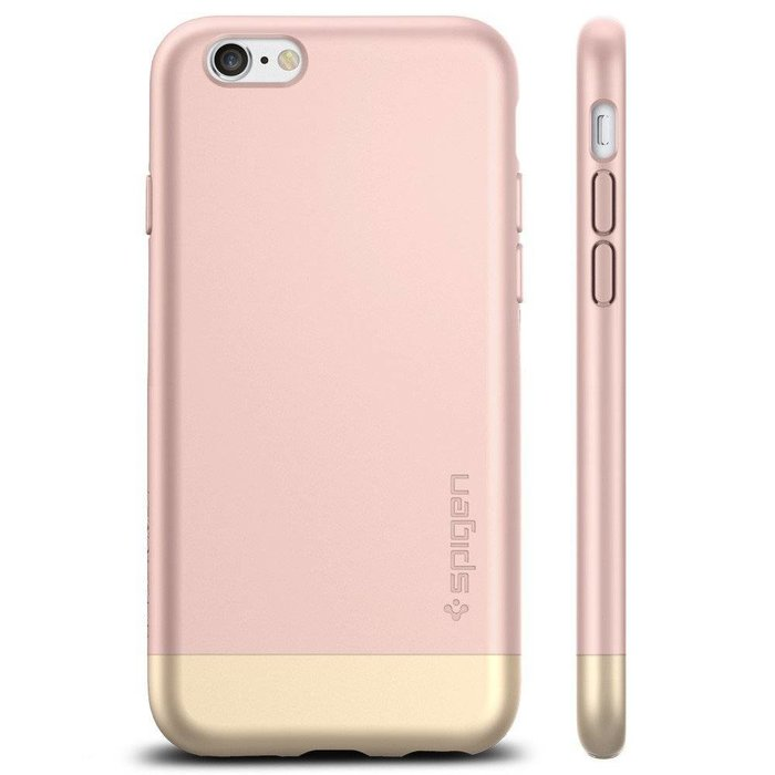 iPhone 6/6S Case Style Armor - Rose Gold