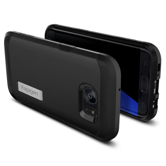 Galaxy S7 Edge Tough Armor - Black