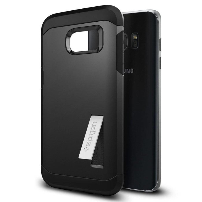 Galaxy S7 Edge Tough Armor - Black