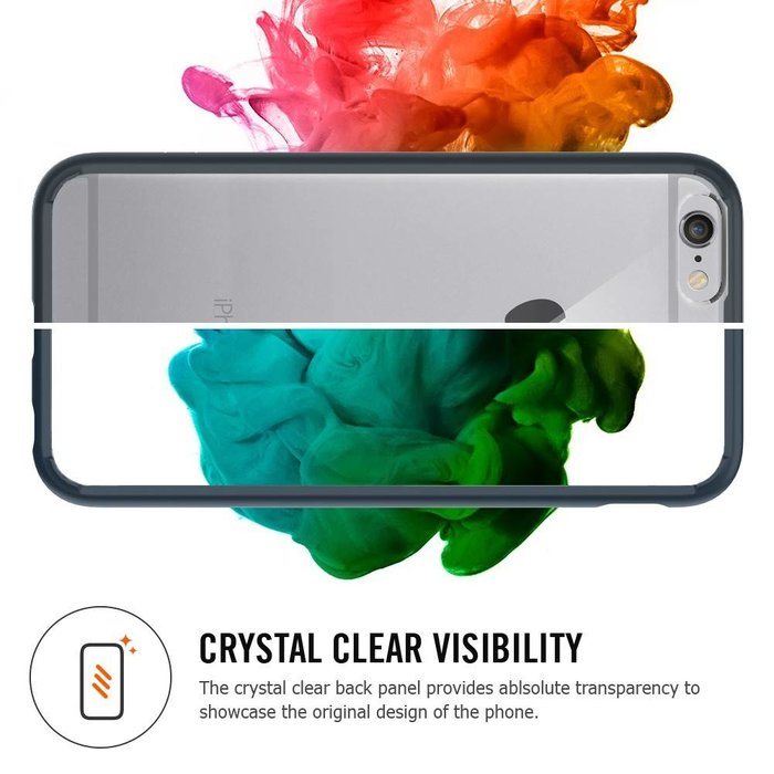 iPhone 6/6S Case Ultra Hybrid - Crystal Clear