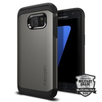 Spigen Galaxy S7 Tough Armor Case - Gunmetal