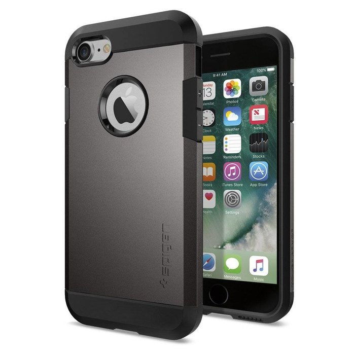 iPhone 7/8 Tough Armor - Gunmetal