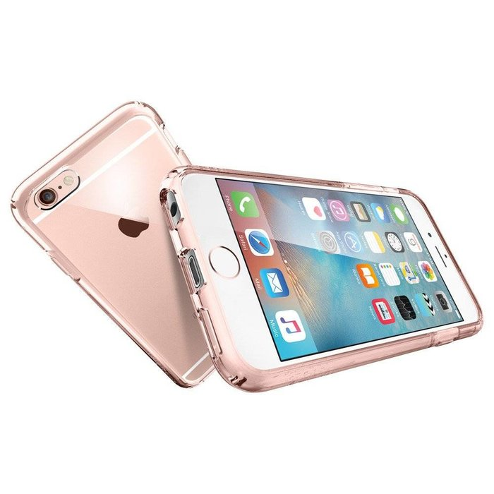 iPhone 6/6s  Ultra Hybrid - Rose crystal