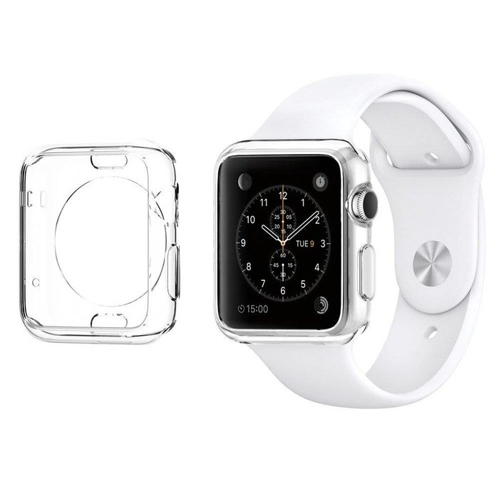 Apple Watch (42mm) Liquid Crystal  - Clear
