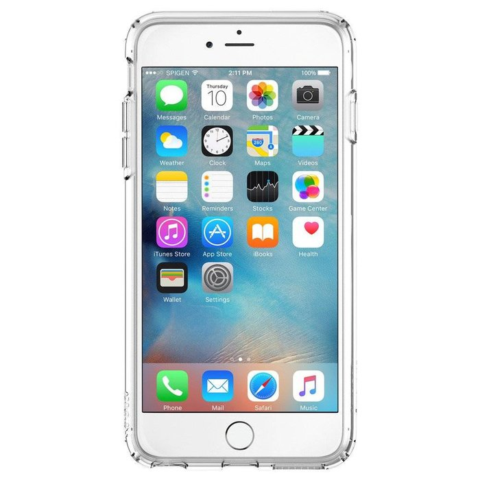 iPhone 6/6S Plus Ultra Hybrid - Clear/white