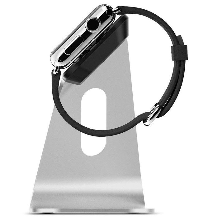 Watch Stand S330 - Silver metallic