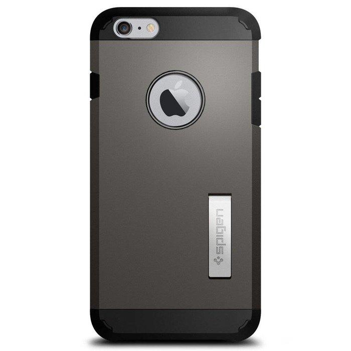 iPhone 6 Plus Tough Armor Back Cover - Gunmetal