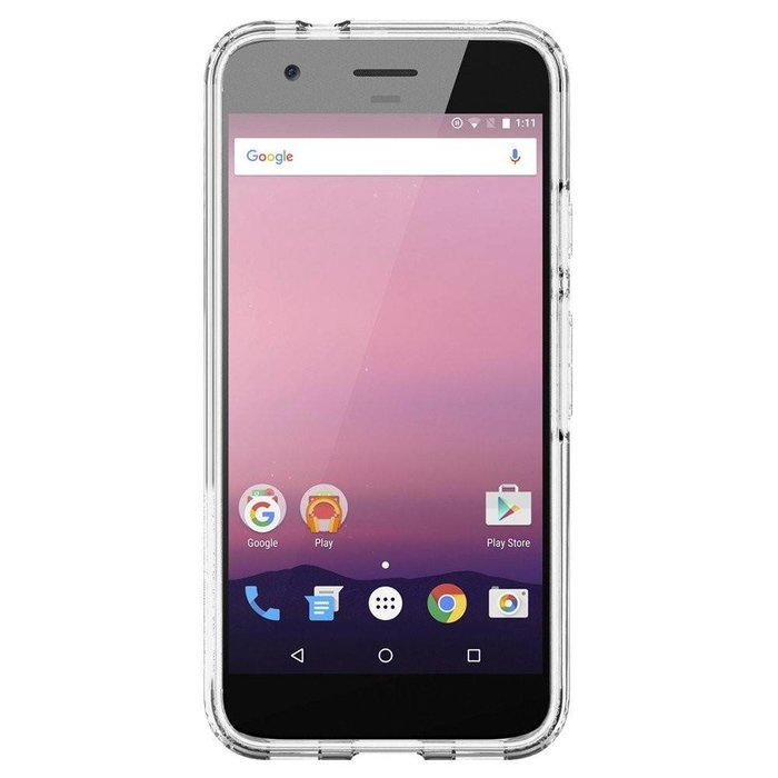 Google Pixel Hybrid Case - Crystal clear