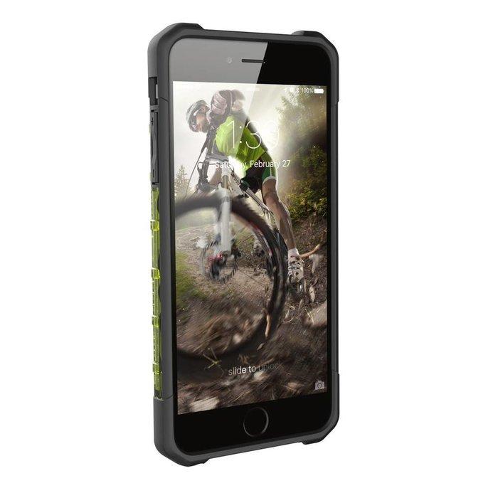 Hard Case iPhone 7/6S Plus Plasma Citron Yellow Clear