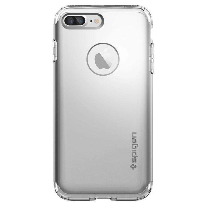 iPhone 7/8 Plus Case Hybrid Armor - Satin Silver