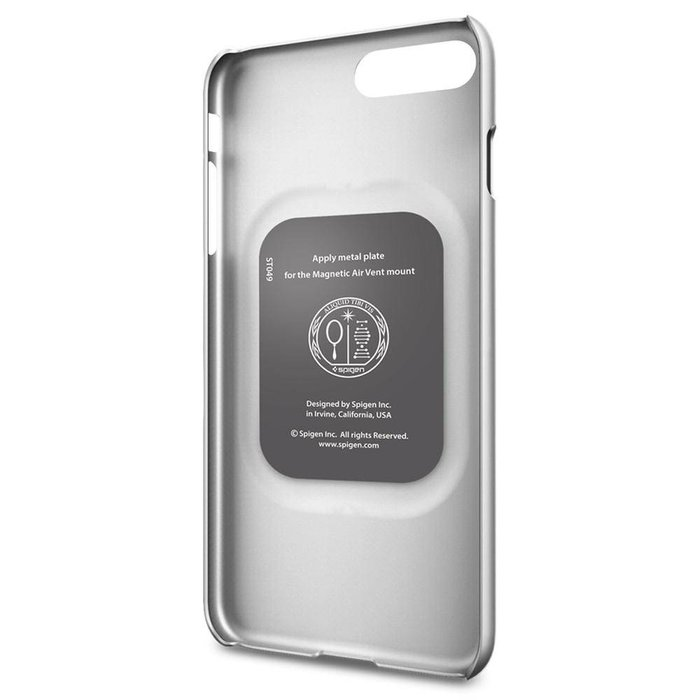 iPhone 7/8 Plus Case Thin Fit - Satin Silver