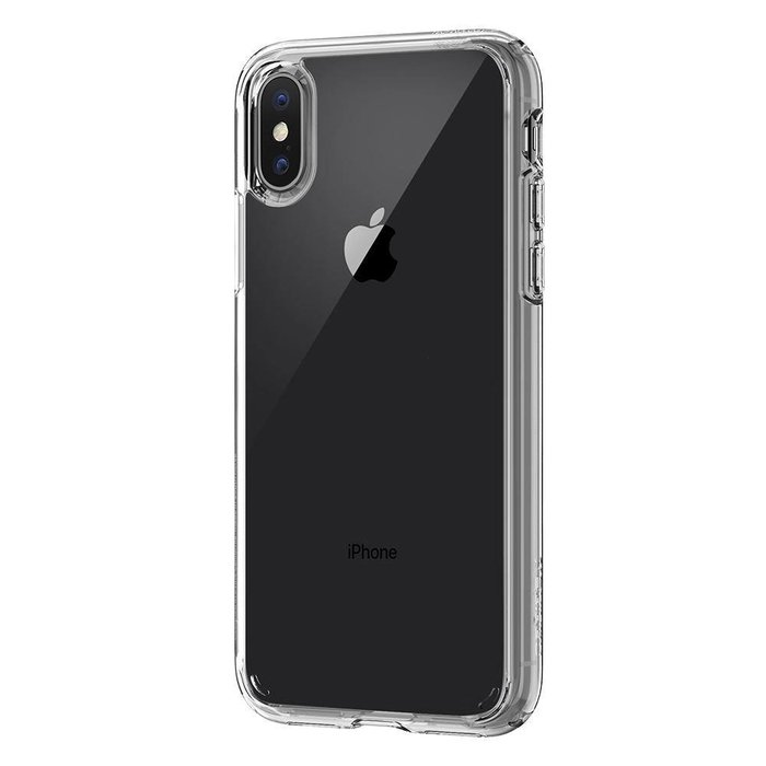 iPhone X Case Ultra Hybrid - crystal clear