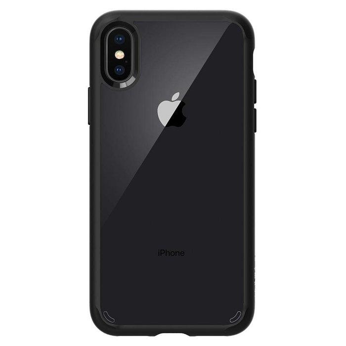 iPhone X Case Ultra Hybrid - matt black