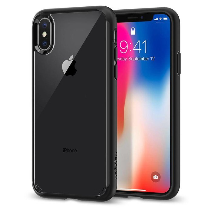 iPhone X Case Ultra Hybrid - matt black