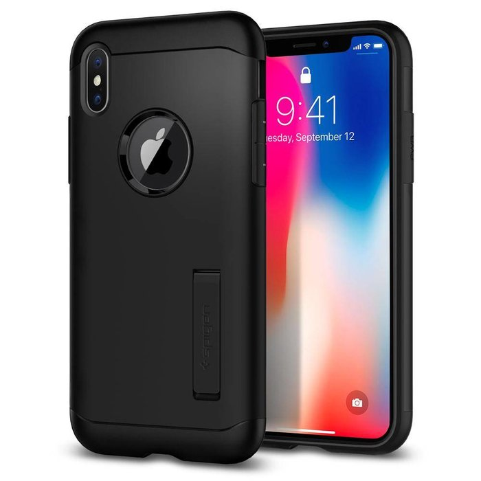iPhone X Case Slim Armor - Black