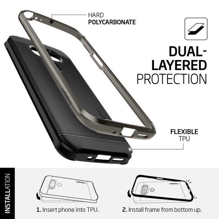 LG G5 Case Neo Hybrid - Gunmetal