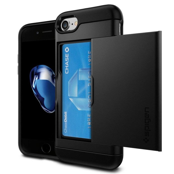 iPhone 7/8 Case Slim Armor CS - Black