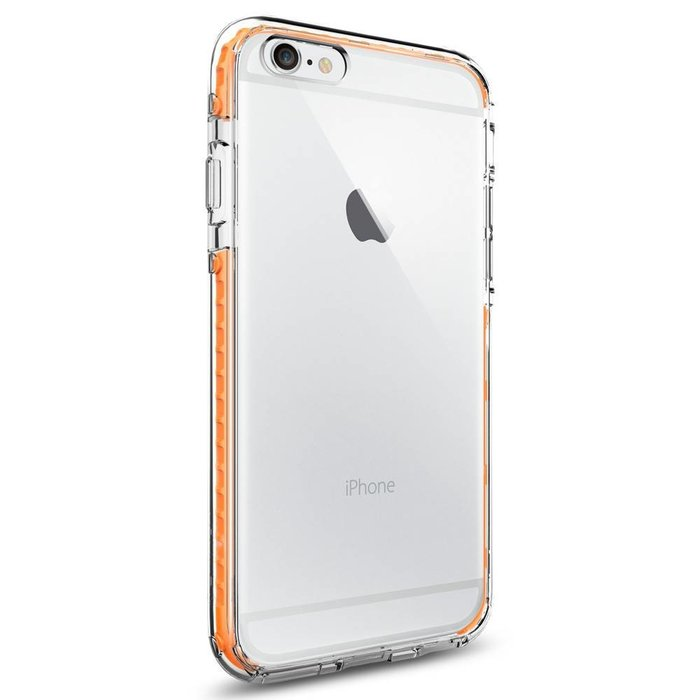 iPhone 6/6S Case Ultra Hybrid TECH - Crystal Orange