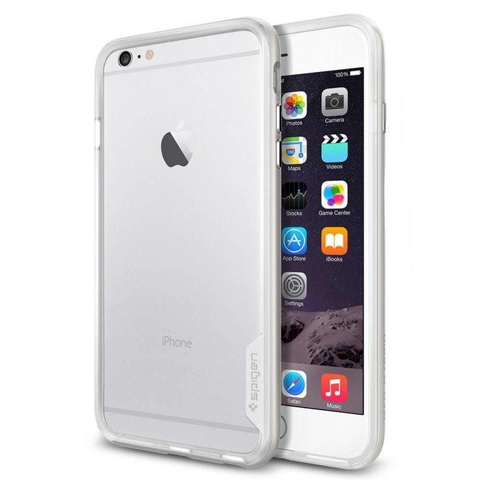 iPhone 6/6S Plus Case Neo Hybrid - Satin Silver