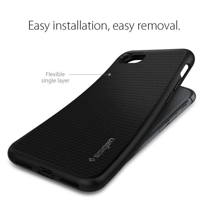 iPhone 7/8 Case Liquid Armor - Black