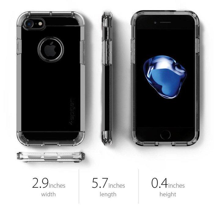iPhone 7/8 Case Tough Armor - Jet Black