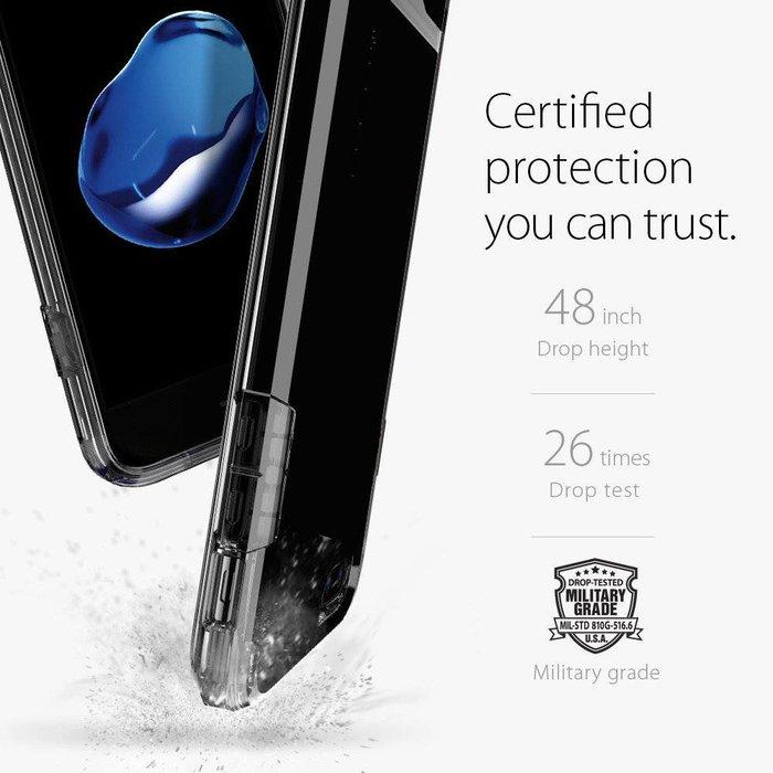 iPhone 7/8 Plus Case Flip Armor - Jet Black