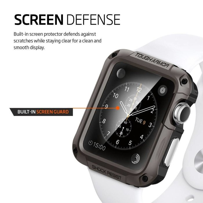 Apple Watch (42mm) Tough Armor - Gunmetal