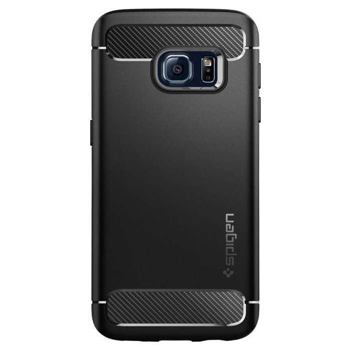 Galaxy S7 Case Rugged Armor - Black