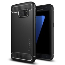 Spigen Galaxy S7 Case Rugged Armor - Black