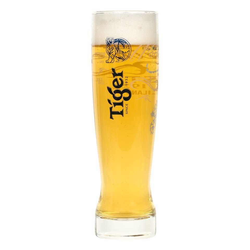 Tiger glazen (6 stuks)