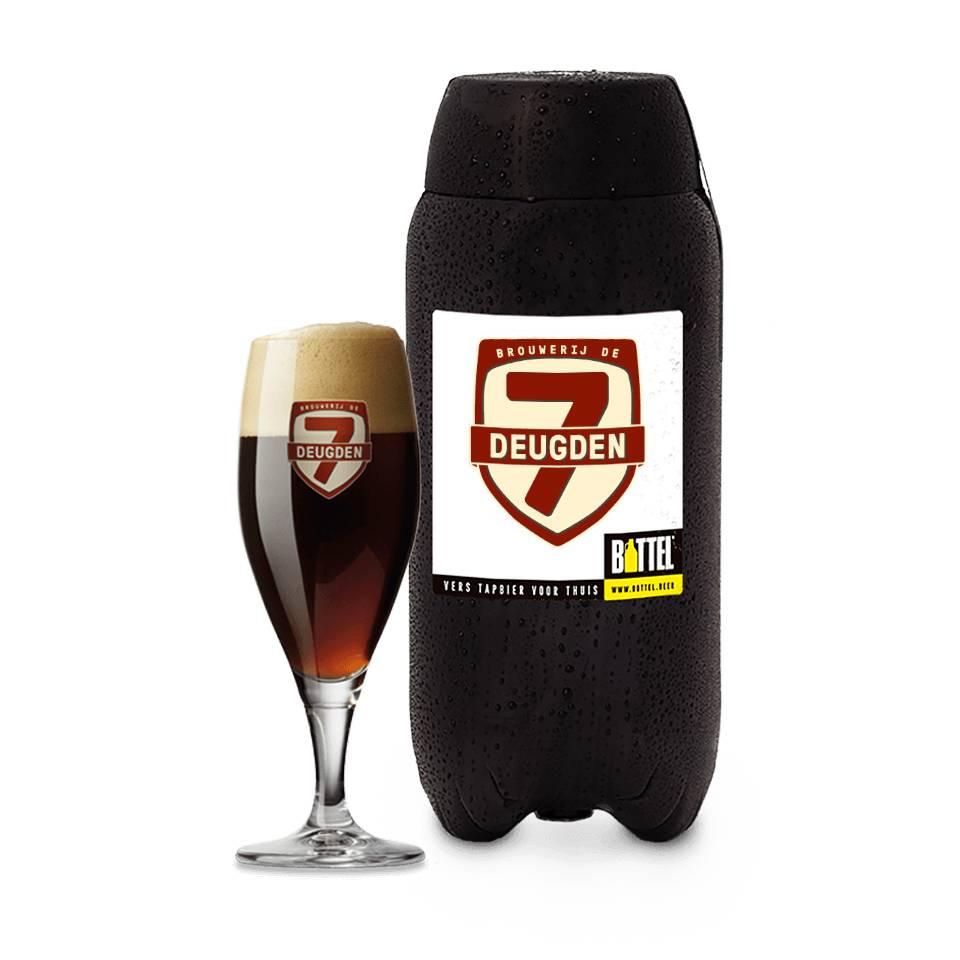 Dubbel + Dik by  Brewery De 7 Deugden