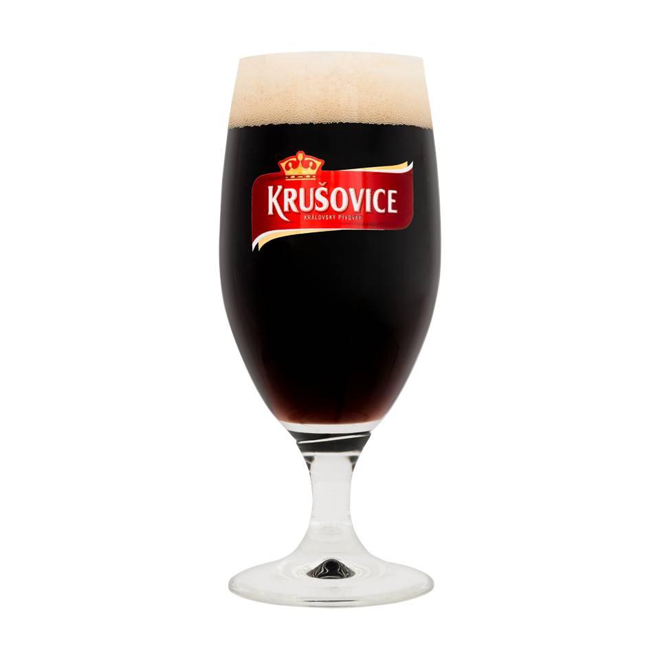 Krusovice glasses (6 PCS)