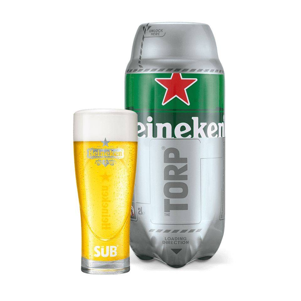 Heineken TORP - Best before 31/05/2018