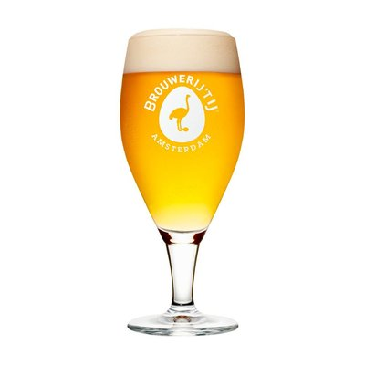 Brewery t' IJ Beer Glass