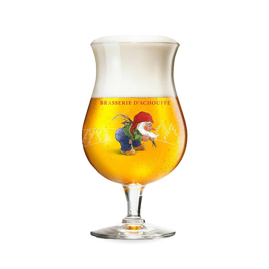 LA CHOUFFE Beer Glass
