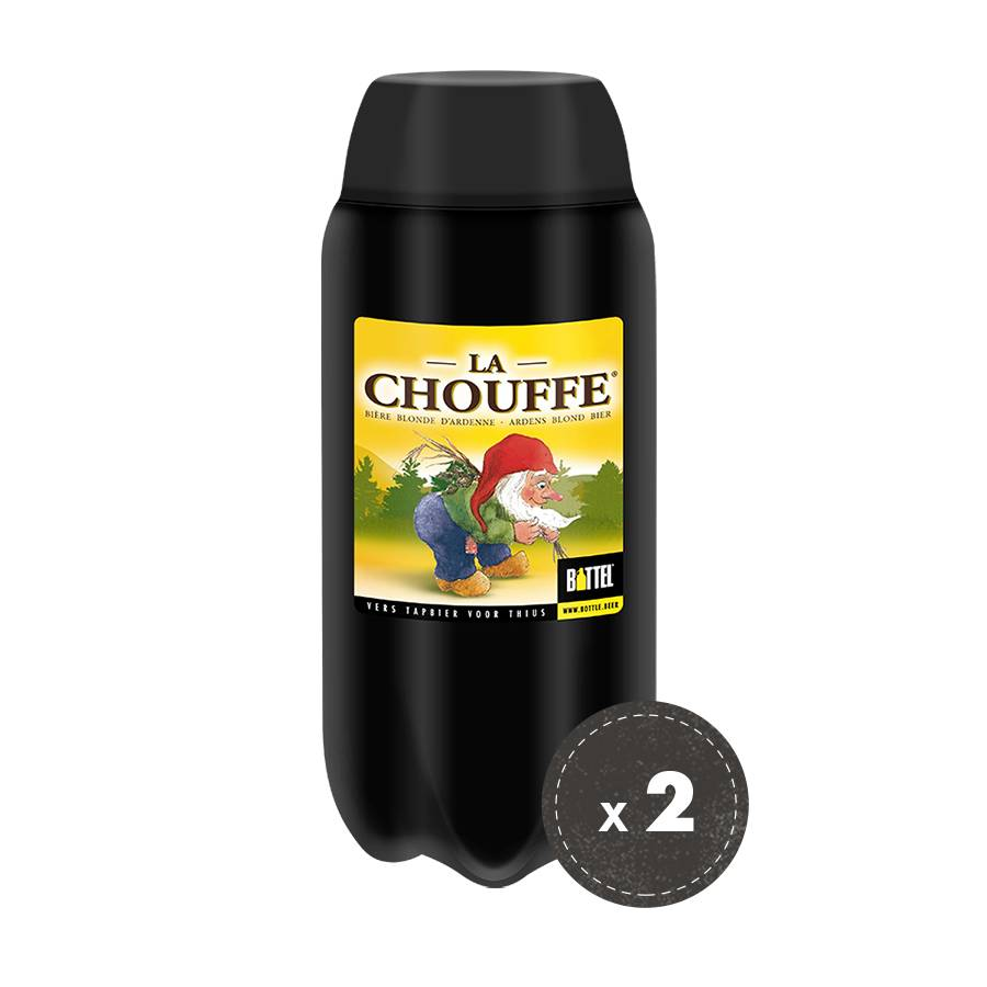 2x La Chouffe bundle