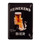 Heineken wandafbeelding hand