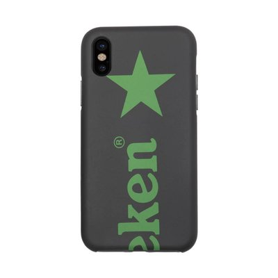 Heineken iPhone X Case Zwart