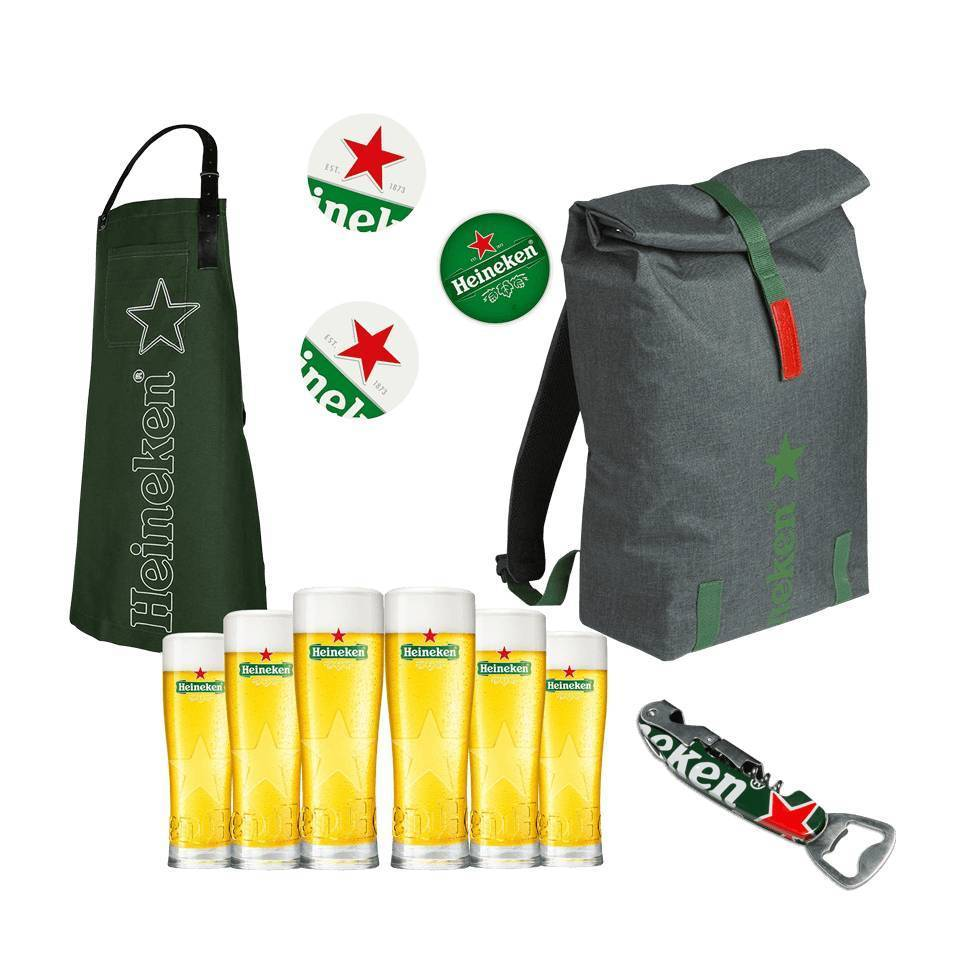 Heineken Bar Set Bundle - Medium