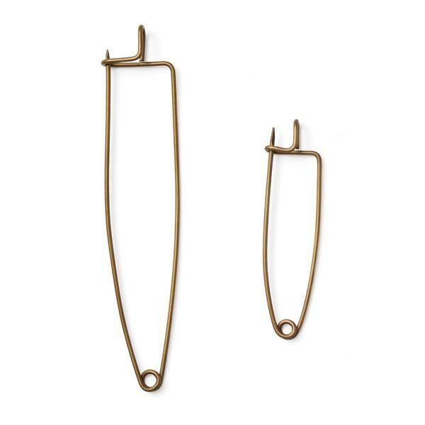 Fog Linen  Fog Linen Brass Cloth Pin Small