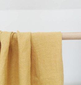 Linge Particulier  Linen Towel Waffle Gold