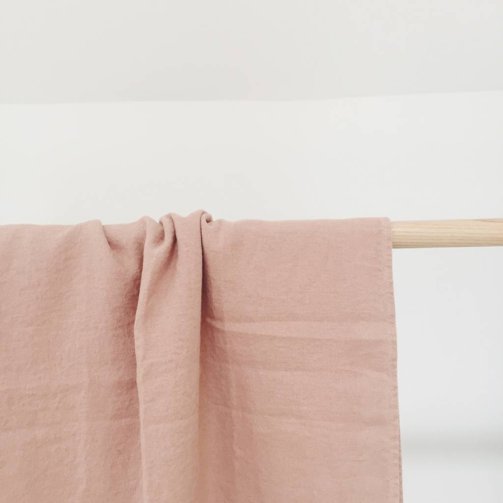 Linge Particulier  Linge Particulier Tablecloth Moka Washed Linen 140 x 250 cm