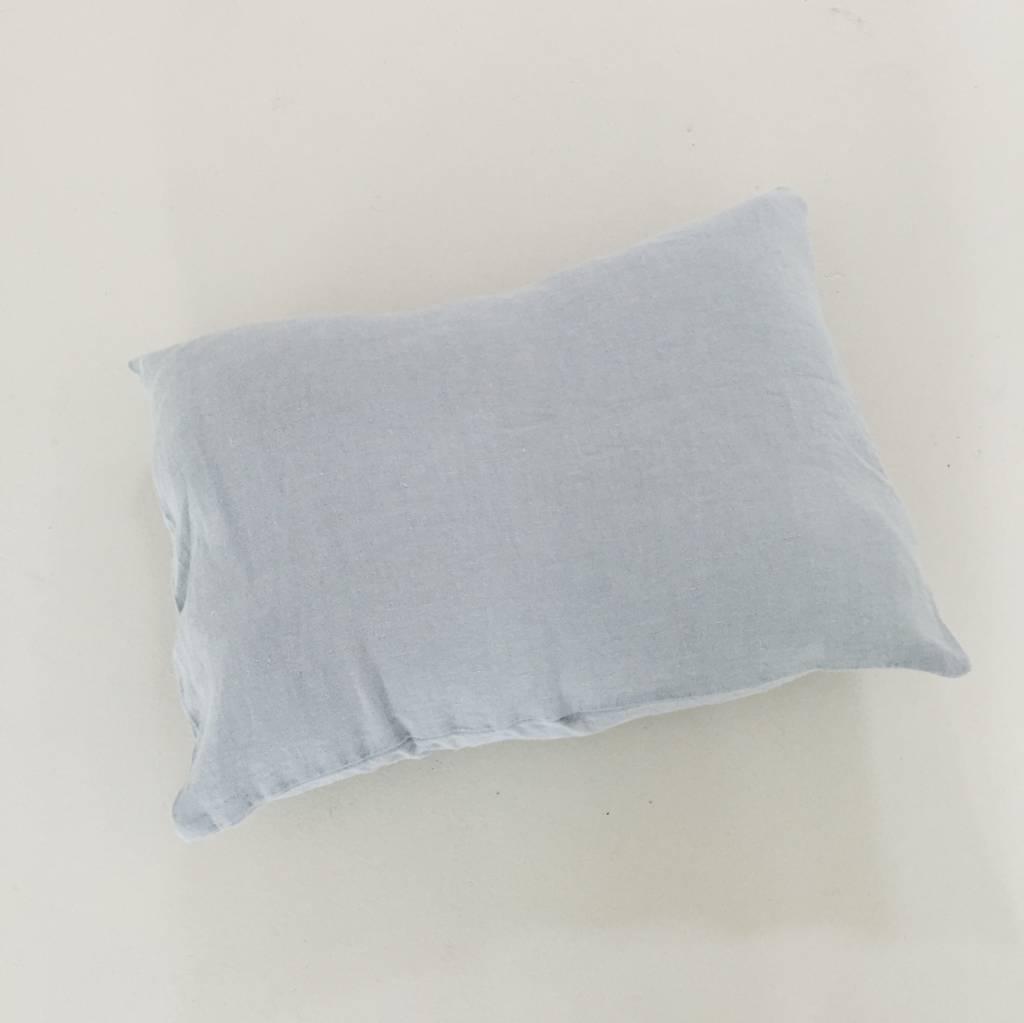 Linge Particulier  Linge Particulier Cushion Cover Cloud Grey Washed Linen 30 x 40 cm