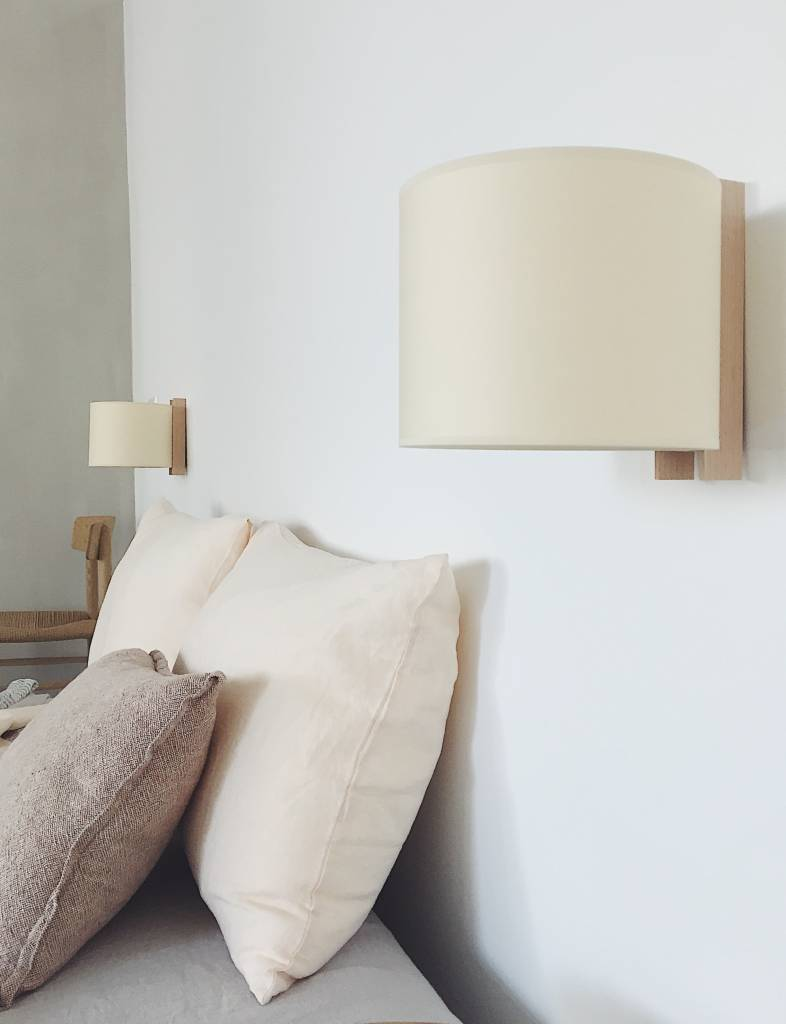 Santa Cole Santa Cole TMM Wooden Wall Lamp