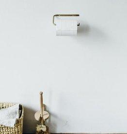 Fog Linen  Brass Toilet Paper Holder