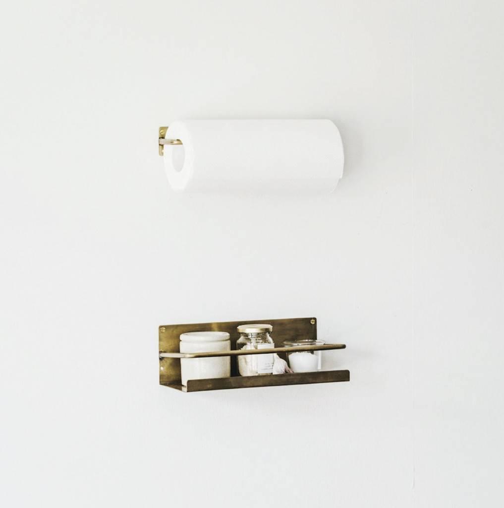 Fog Linen  Fog Linen Brass Paper Holder