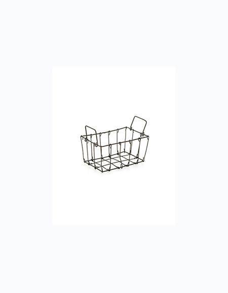 Fog Linen  Fog Linen Market Basket mini